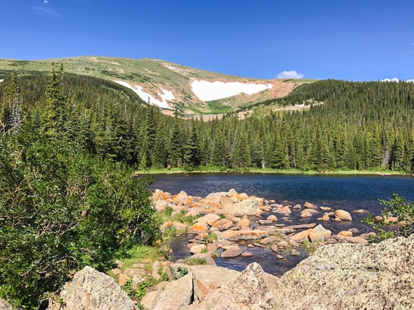 Rainbow Lake hike in Indian Peaks, Colorado