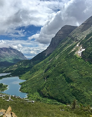 Swiftcurrent Pass hike in Glacier National Park, Montana