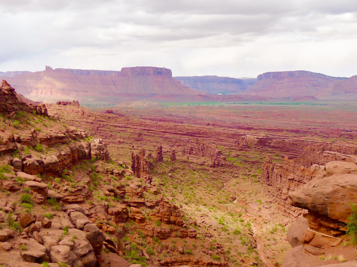 Fisher Towers hike near Moab is surrounded by beautiful views