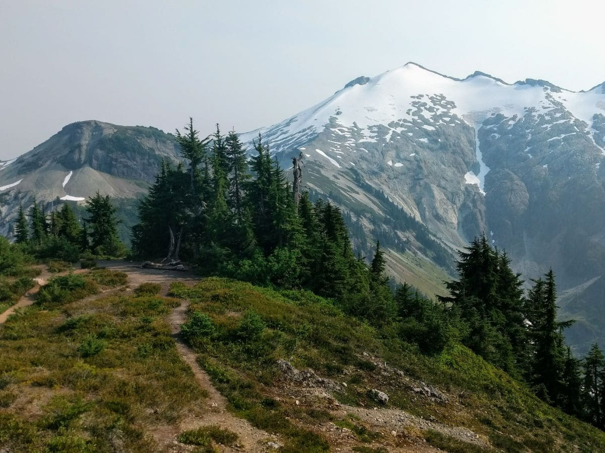 Ruth Mountain on the Hannegan Pass and Peak Hike near Mt Baker, Washington