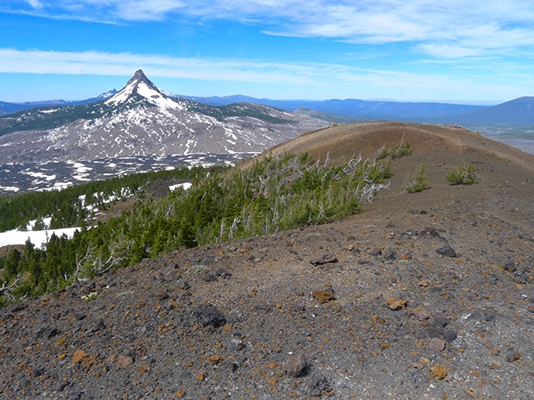 Views from the Belknap Crater hike near Bend, Oregon
