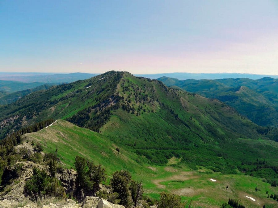 Mt. Raymond trail is one of top 10 most epic hikes in Utah