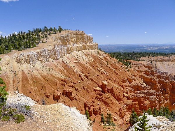 Views from the Bristlecone Loop Trail hike in Bryce Canyon National Park, Utah