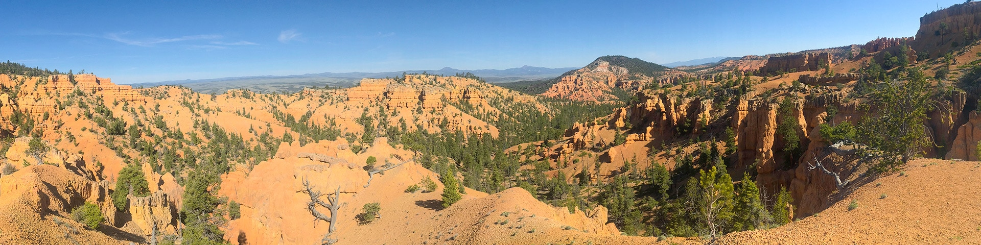 Golden Wall hike in Bryce Canyon National Park, Utah