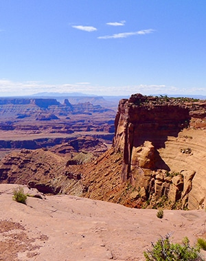 Scenery from the Dead Horse Point hike near Moab, Utah