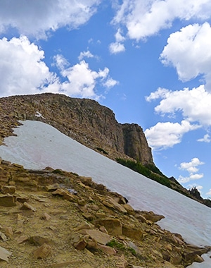 Trail of the Bald Mountain hike in the Uinta Mountains