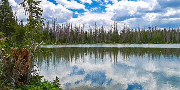 Views from the Fehr Lake hike in the Uinta Mountains, Utah