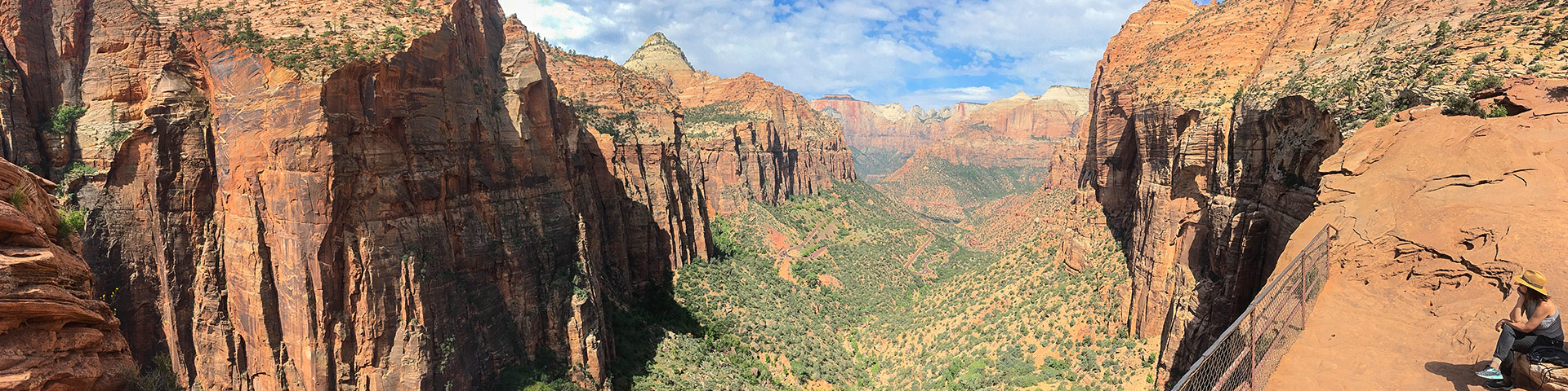 Canyon Overlook hike in Zion National Park