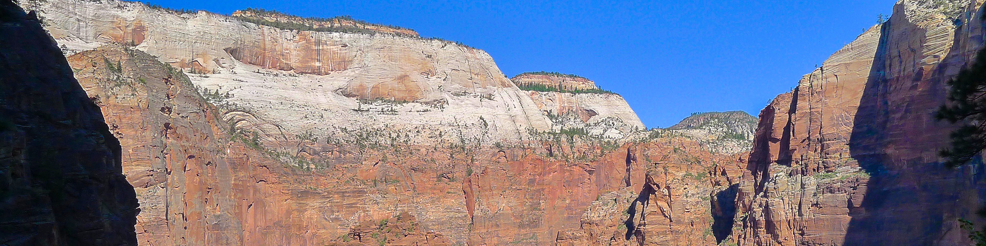 Hidden Canyon hike in Zion National Park