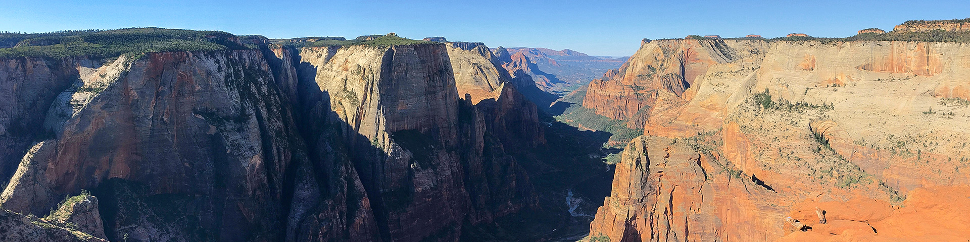 Observation Point hike in Zion National Park