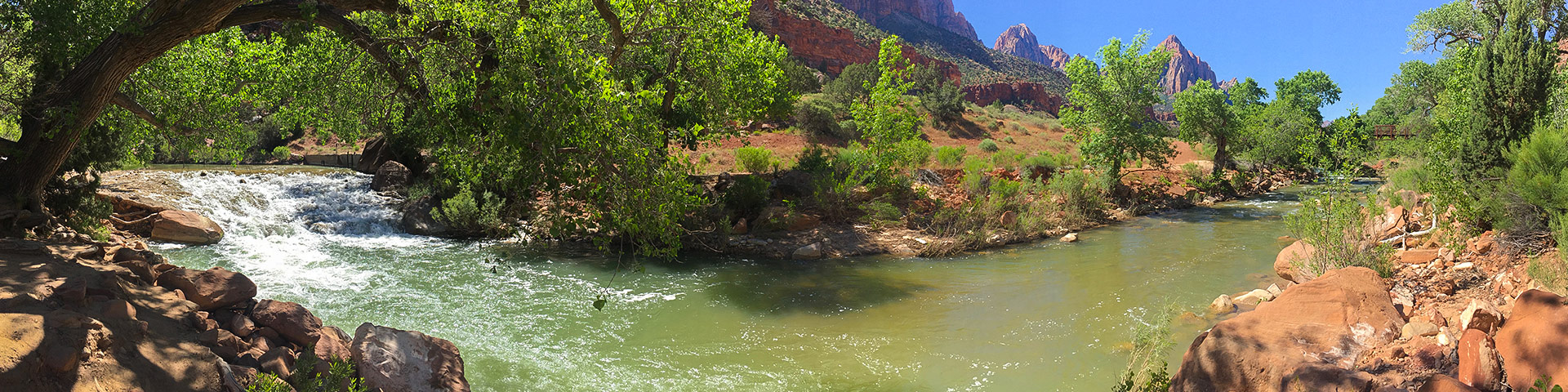 Pa'Rus Trail hike in Zion National Park