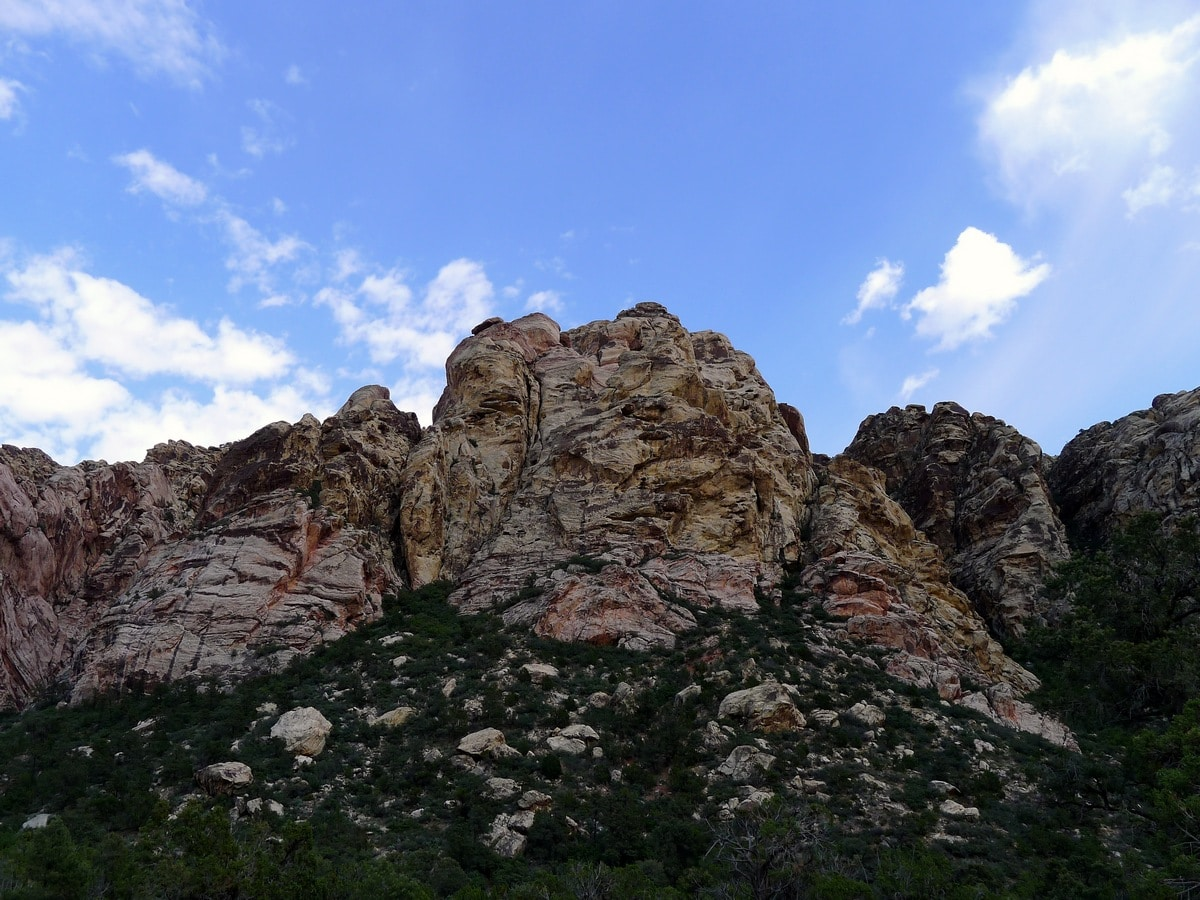 Rock formations from the La Madre Springs Hike near Las Vegas