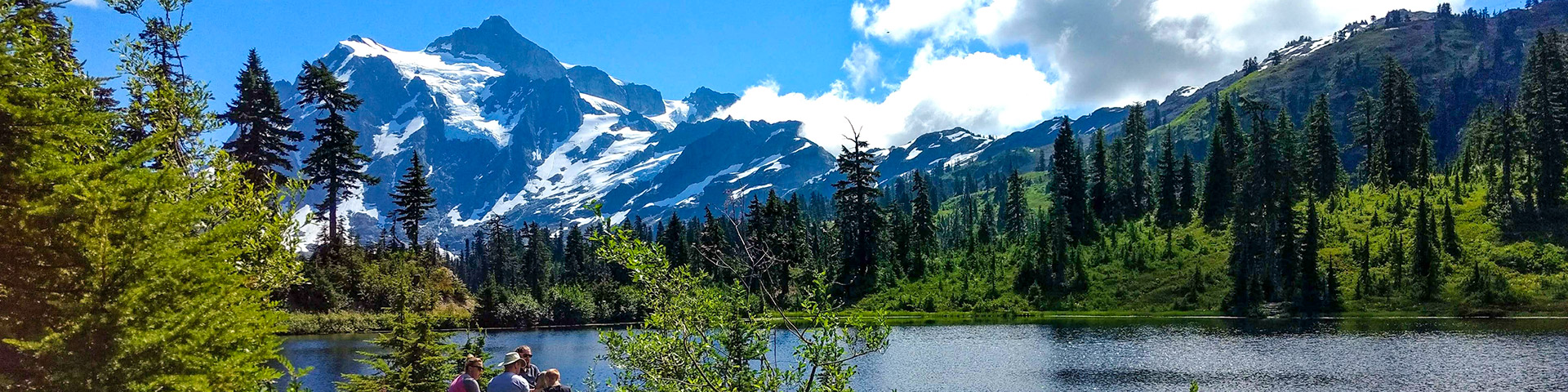 Picture Lake hike in Mt. Baker-Snoqualmie National Forest