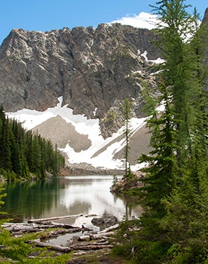 Trail of the Blue Lake hike in North Cascades National Park
