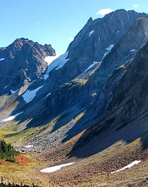 Scenery from the Cascade Pass hike in North Cascades National Park