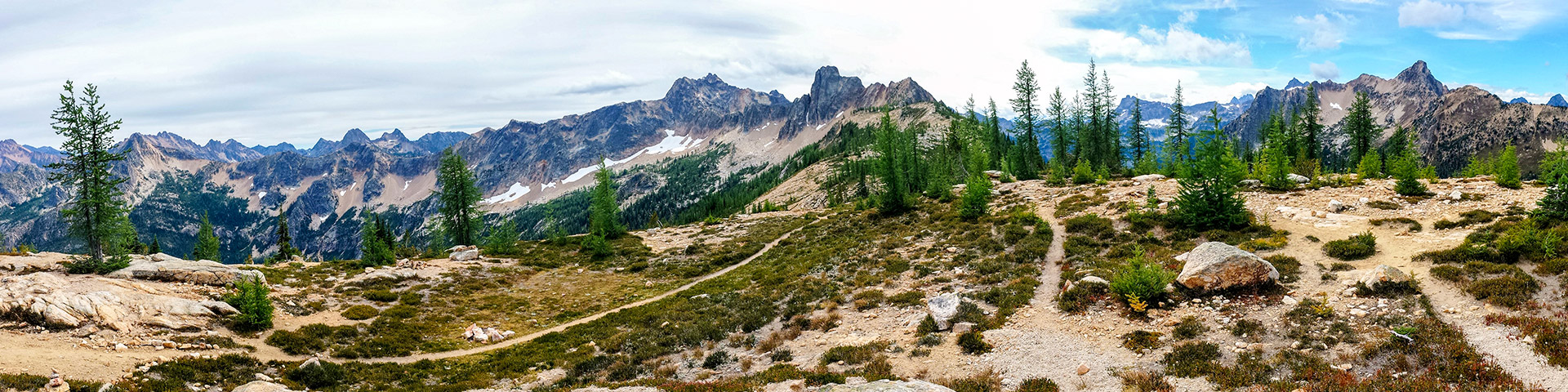 Cutthroat Pass in North Cascades National Park