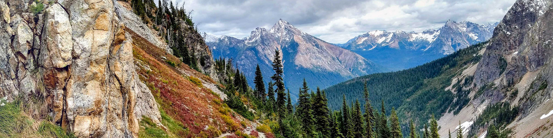 Easy Pass hike in North Cascades National Park