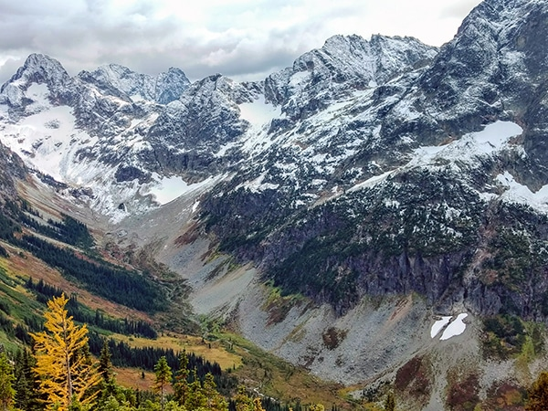 Views from the Easy Pass hike in North Cascades National Park