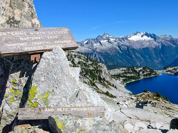 Scenery from the Hidden Lake Trail Hike in North Cascades National Park