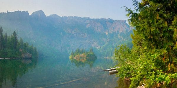 Lake Angeles Hike in Olympic National Park, Washington