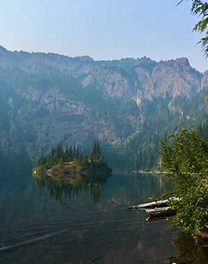 Scenery from the Lake Angeles Hike in Olympic National Park, Washington