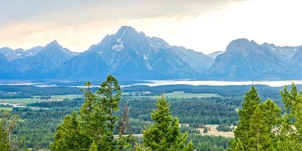 Trail of the Grand View Point Hike in Grand Tetons