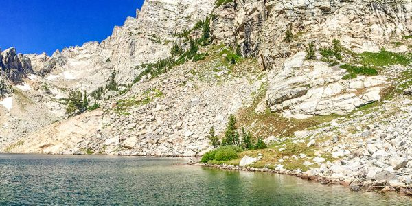 Views from the Hanging Canyon Hike in Tetons