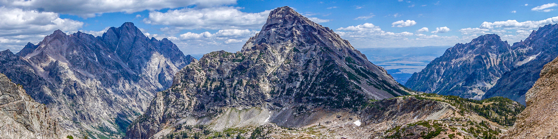 Views of the Paintbrush Divide Hike in Grand Tetons