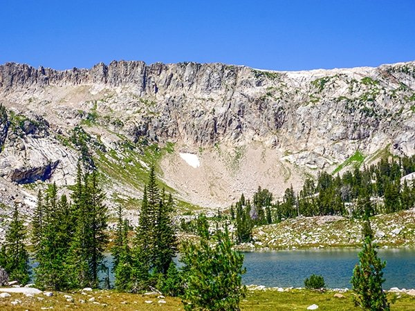 Scenery from the Solitude Lake Hike in Grand Tetons