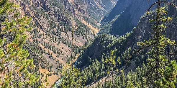 Trail of the Artist Point to Point Sublime Hike in Yellowstone National Park