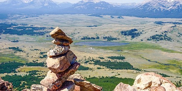Trail of the Bunsen Peak Hike in Yellowstone National Park