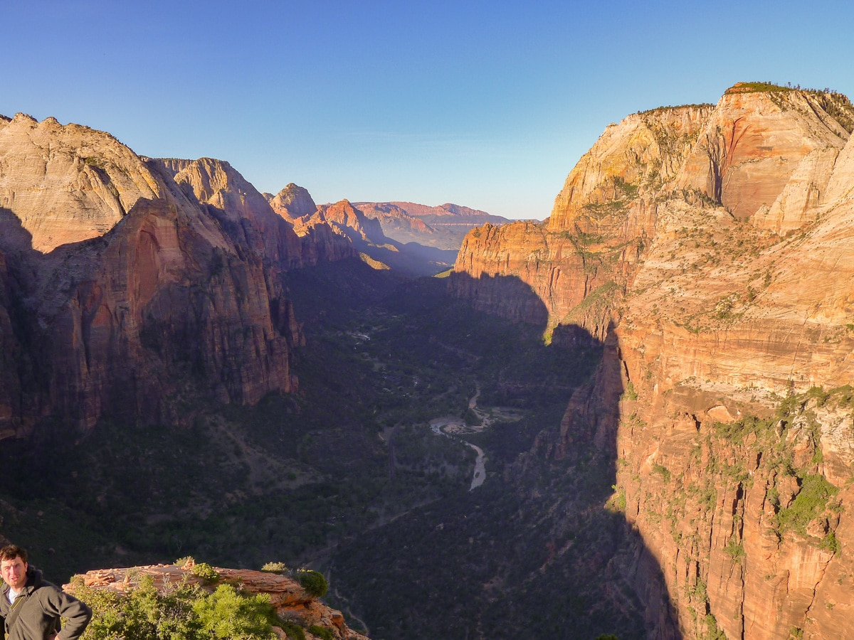 Angel's Landing hike has some of the best canyon views in Zion