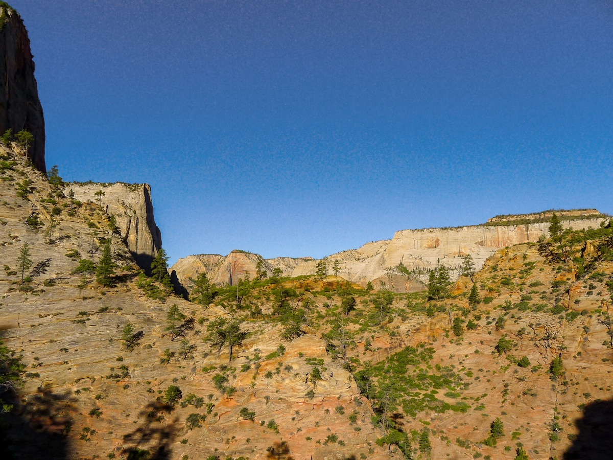 Amazing hills on Observation Point hike in Zion National Park, Utah