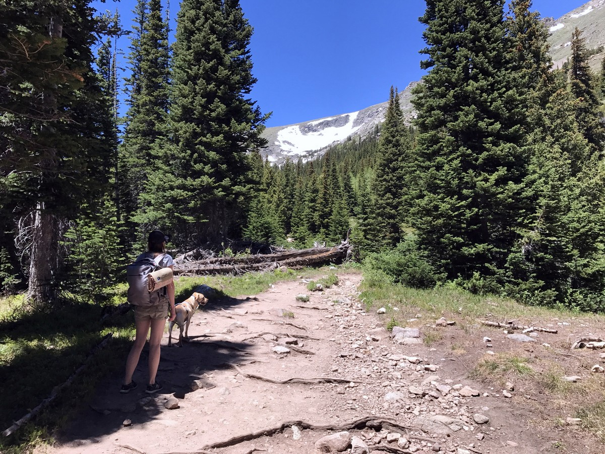 Trail of the Diamond Lake Trail Hike in Indian Peaks, Colorado