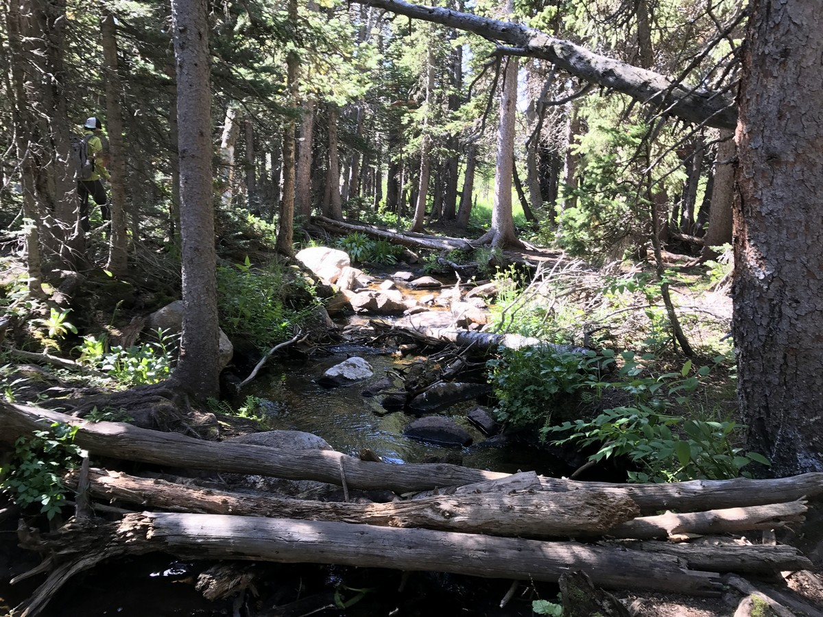 Trail of the Rainbow Lake Trail Hike in Indian Peaks has great views