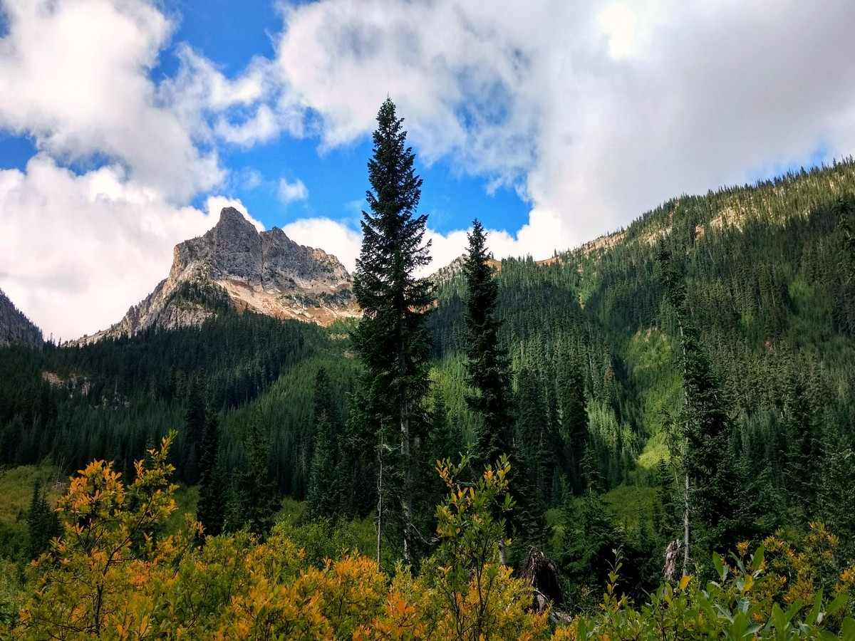 New Morning Peak on the Easy Pass Hike in North Cascades, Washington