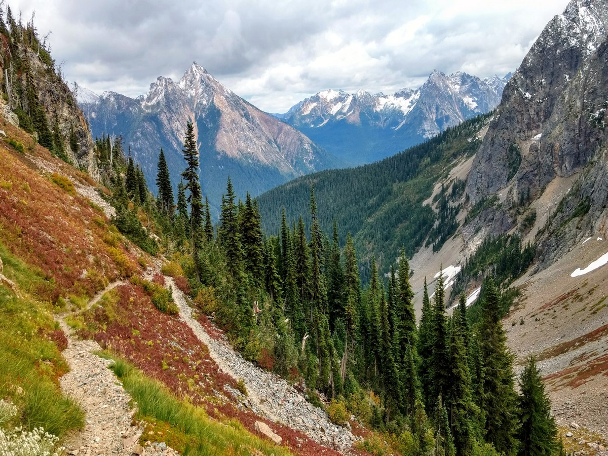 Mount Hardy from the Easy Pass Hike in North Cascades, Washington