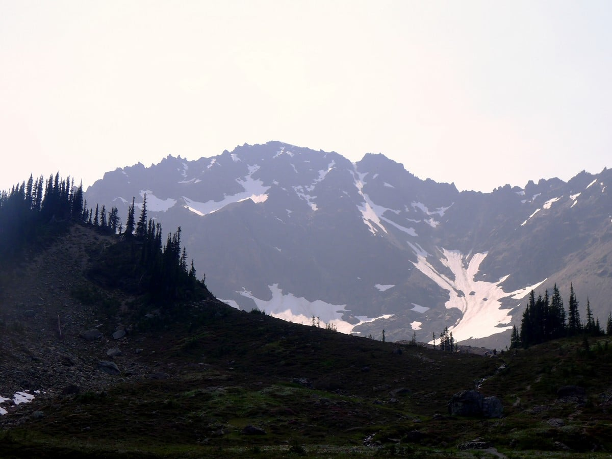 Mt Deception from the Royal Basin hike in Olympic National Park