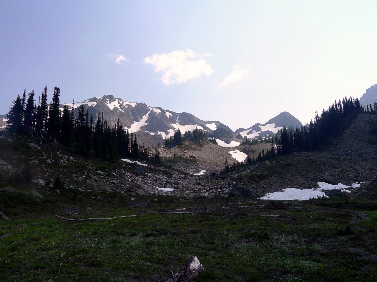 The views of the Royal Basin hike in Olympic National Park