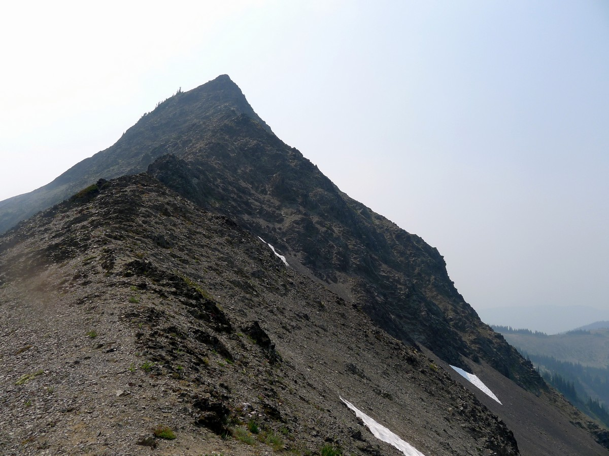The rugged ridge from the Obstruction Point Hike in Olympic National Park, Washington