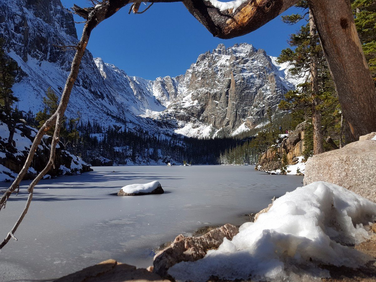 The Loch on the Sky Pond and Lake of Glass Hike in Rocky Mountain National Park, Colorado