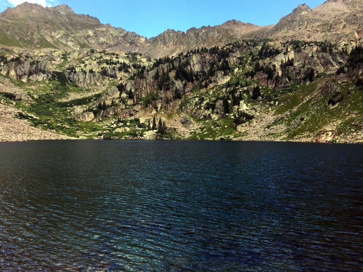 Scenery of the Pitkin Lake Trail Hike near Vail, Colorado