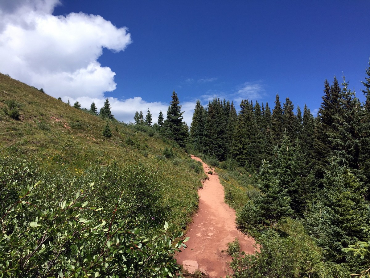 Trail of the Shrine Ridge Hike near Vail, Colorado