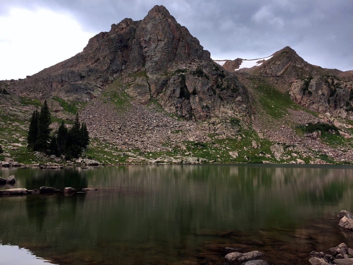 Gore Lake trail is one of the best hikes near Vail, Colorado