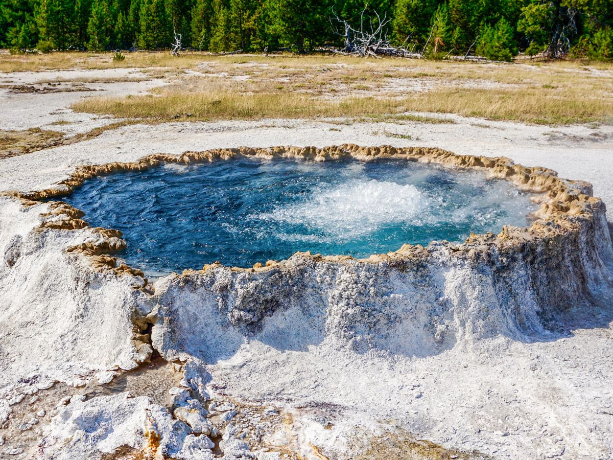 Upper Geyser Basin is in a bucket-list for most of the hikers in Yellowstone National Park