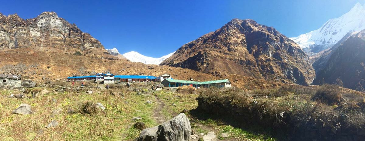 Guesthouses on the Annapurna Base Camp hike