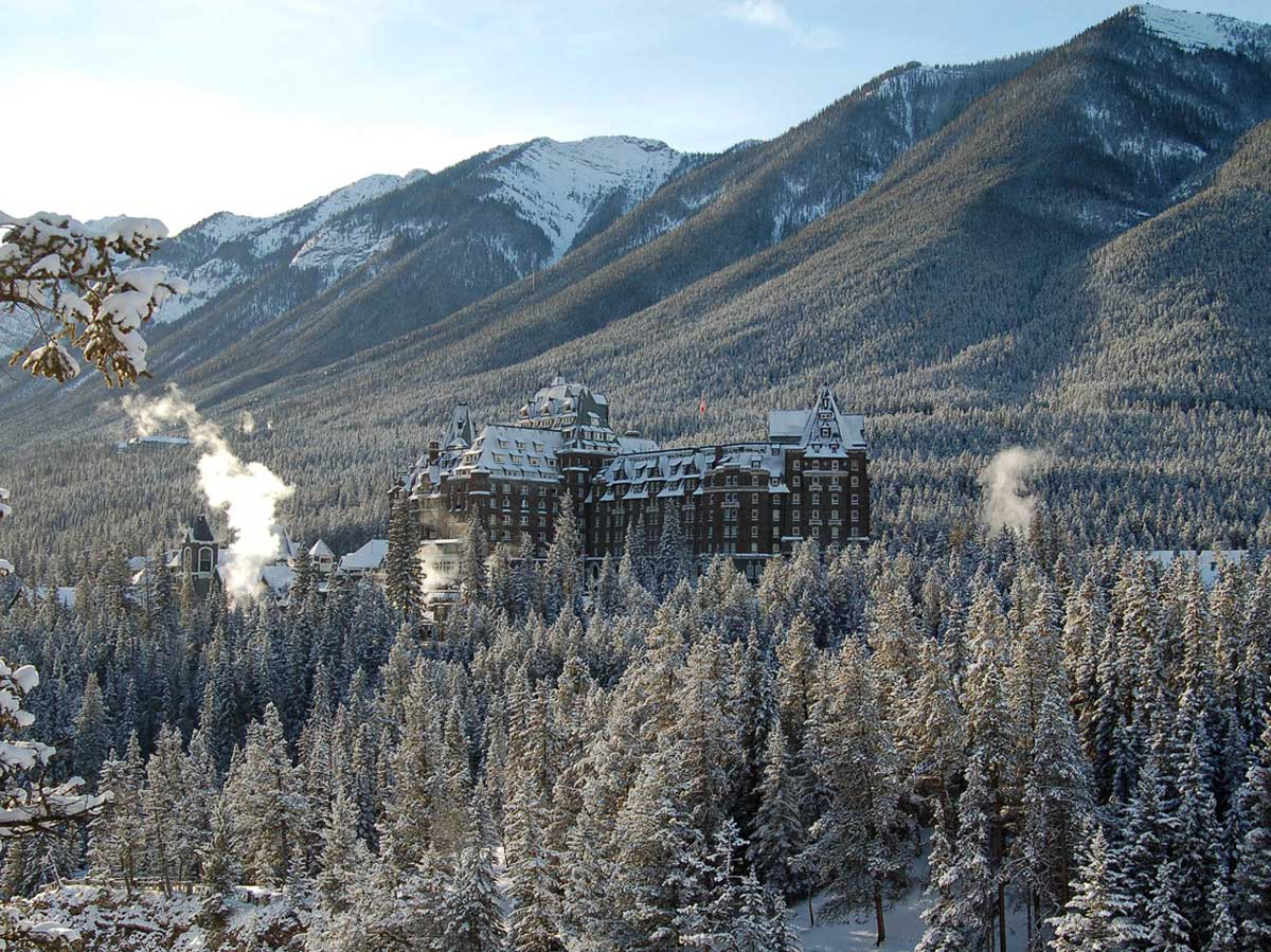 Banff Springs Hotel is a great place to stay in Banff