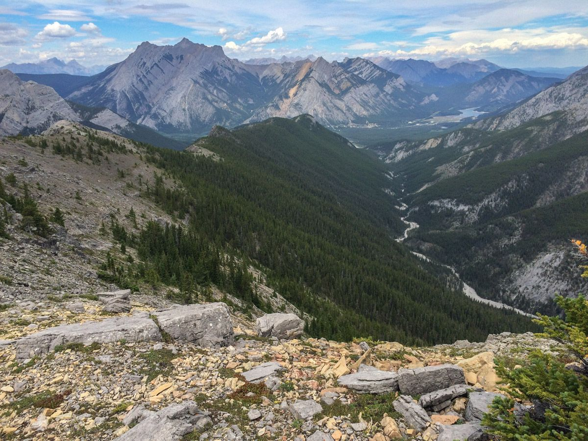 Trail of the Wasootch Ridge Hike in Kananaskis, near Canmore