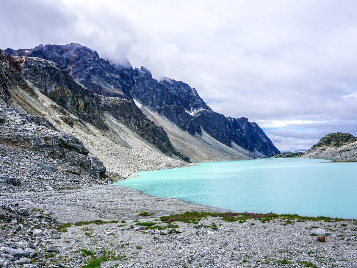 Trail of the Wedgemount Lake Hike in Whistler, Canada