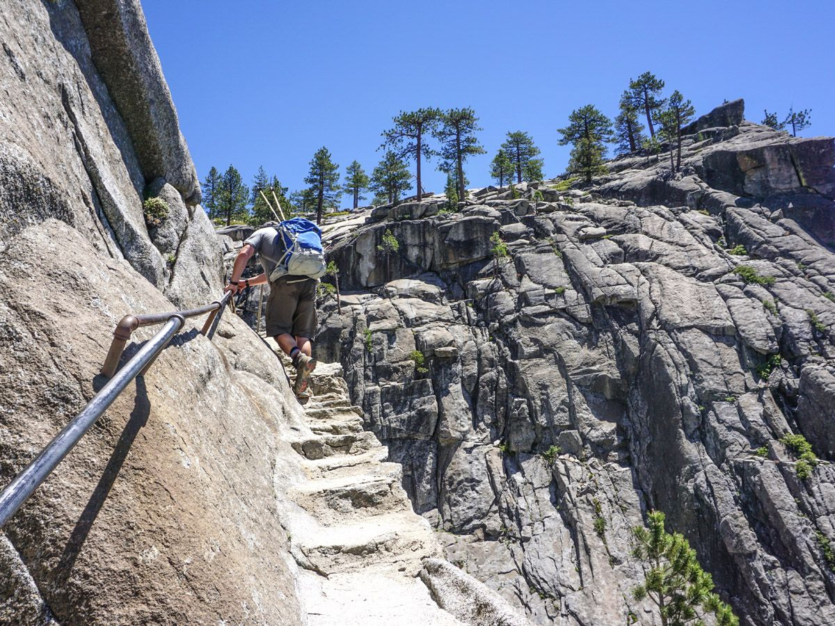 Panorama Trail Hike should be included planning your trip to Yosemite Valley